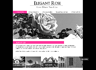 Elegant Com Template - This beautiful Classic Website is designed to showcase and sell your best Business creations. With no downloads and programming needed, high quality professional galleries and an easy to customize layout this design is waiting to present your personal and professional presence to the world