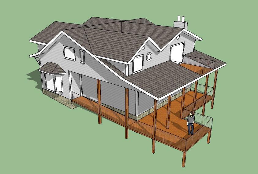 Casa canadiense - Casas de madera nordicas ...