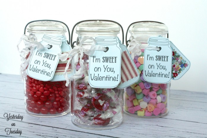Valentines Day Mason Jar Sweets For Sweet Folks Halle S Kitchen