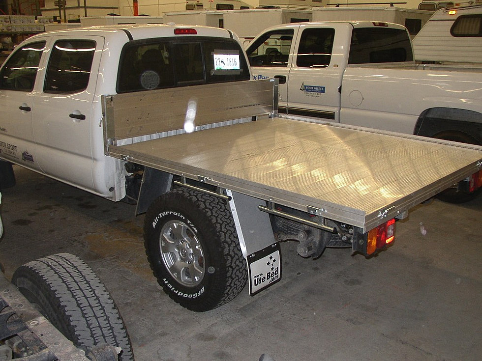 UTE Flat Bed On Toyota Tacoma