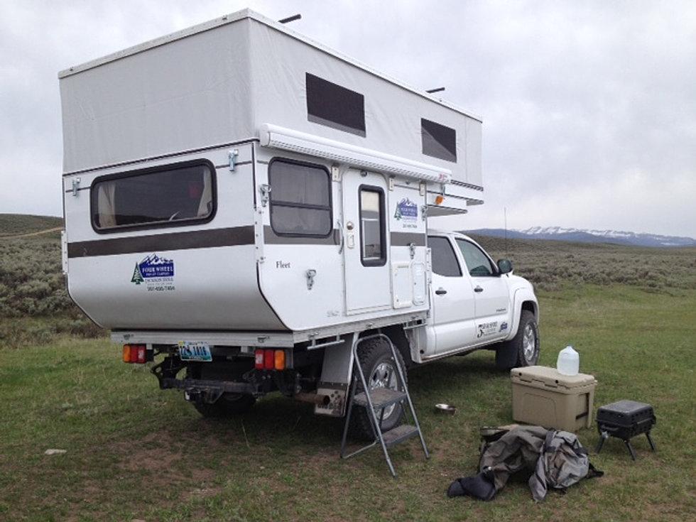 Fleet Flat Bed at Camp
