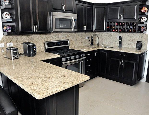 Cubiertas para cocina de granito, cocinas de piedra granito y marmol