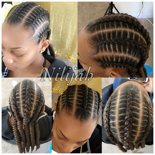 Image result for stitch braids