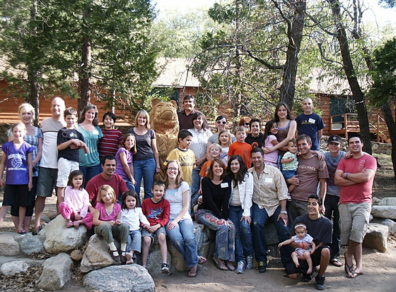 Our annual homeschool family camp is offered every May. Families can engage in camp fun and learn together with other like-minded families.