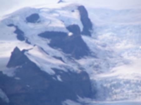 ökulsárlón, Iceland: Icebergs in Jökulsárlón, a large glacial lake near the southeastern coast of Iceland. The water and the icebergs in the lake come from Breiðamerkurjökull, the glacier seen in the background. Breiðamerkurjökull is a part of Vatnajökull,