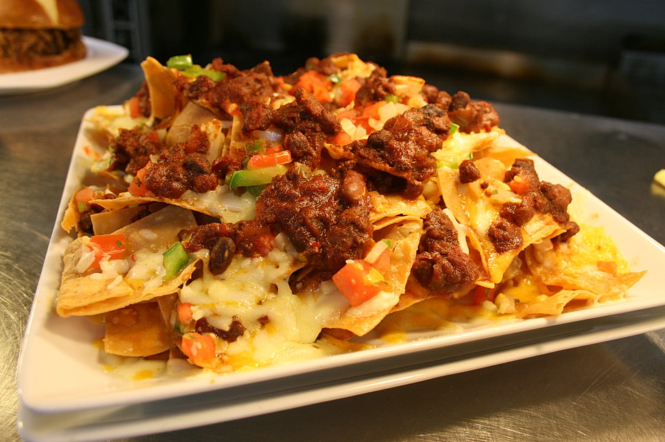 Nachos with Chili