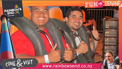 Fun on Demand image from theme park social strategy