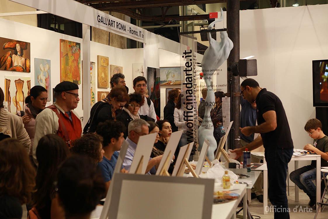 Scuola d 39 arte a roma corso di pittura acrilica a roma for Corso di arredatore d interni roma