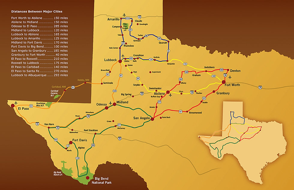 Map Of West Texas Cities | Business Ideas 2013