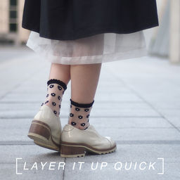 the layers socks
