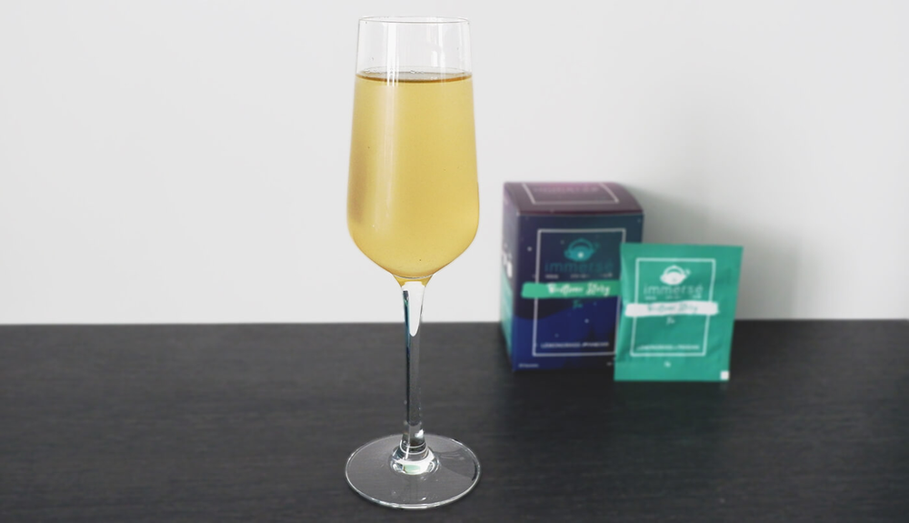 Recipe: Cold Serve Lemongrass and Pandan Tea