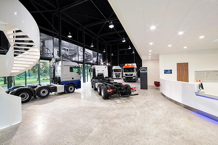 Truckdealer man trucks utrecht for Interieur reinigen auto rotterdam