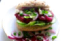 Groen recept - bietenburger
