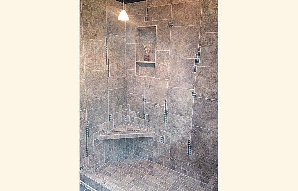 Bathroom photos tile shower joy studio design gallery for Bath remodel spokane