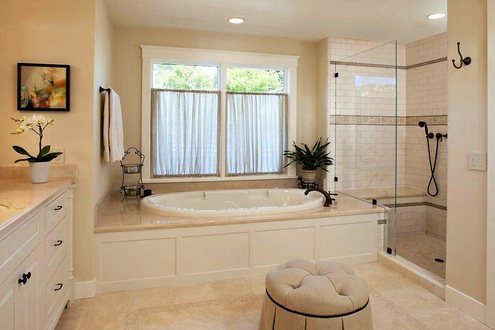 Ванные комнаты дизайн с окнами