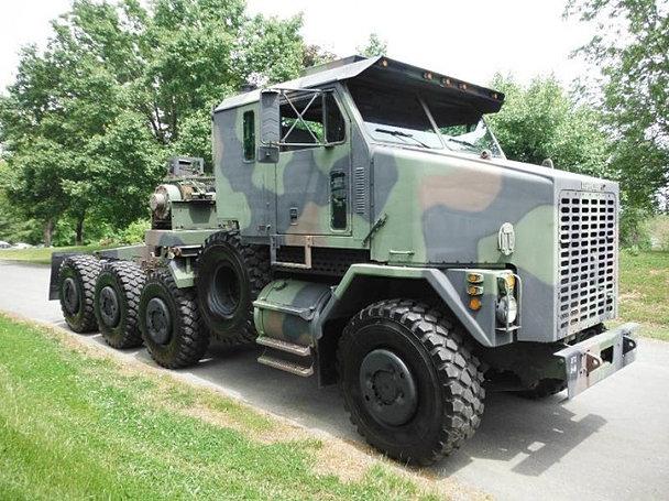 Monster Trucks For Sale >> oshkosh 8x8 m1070 Abrams tank hauler heavy duty military army truck
