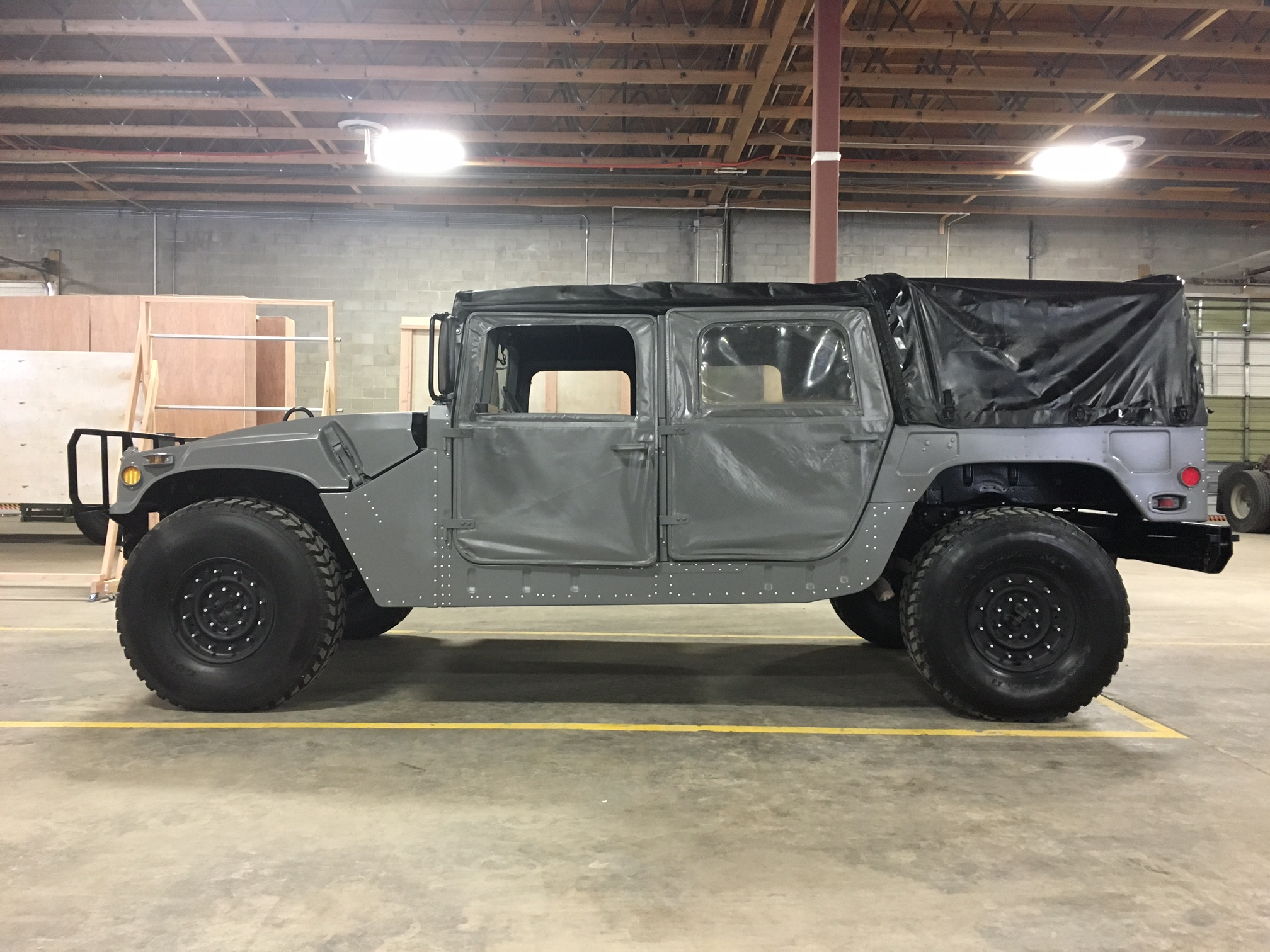 Hummers For Sale >> Plan B Supply 6x6 Military Disaster Trucks and Emergency Gear | Gray_hummer.jpeg
