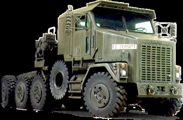 Army Heavy Duty Trucks : Oshkosh m abrams tank hauler heavy duty military