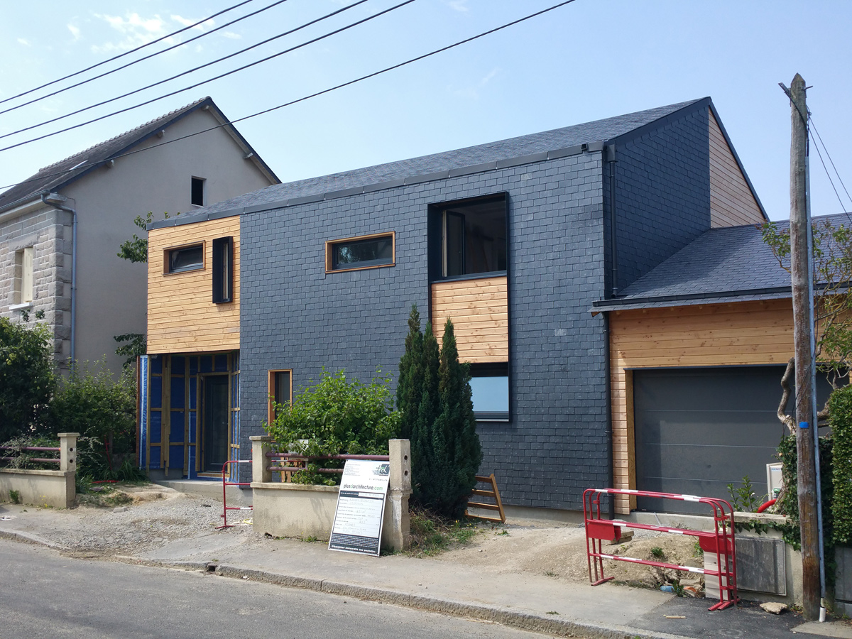 maison passive maisons d 39 architecte rennes. Black Bedroom Furniture Sets. Home Design Ideas