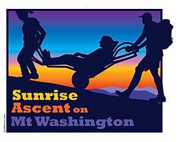 Sunrise Ascent on Mount Washington