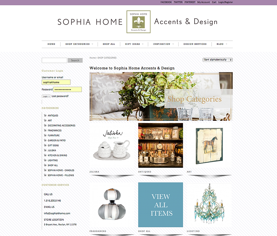 Sophia Home Accents Design Home Photo Style