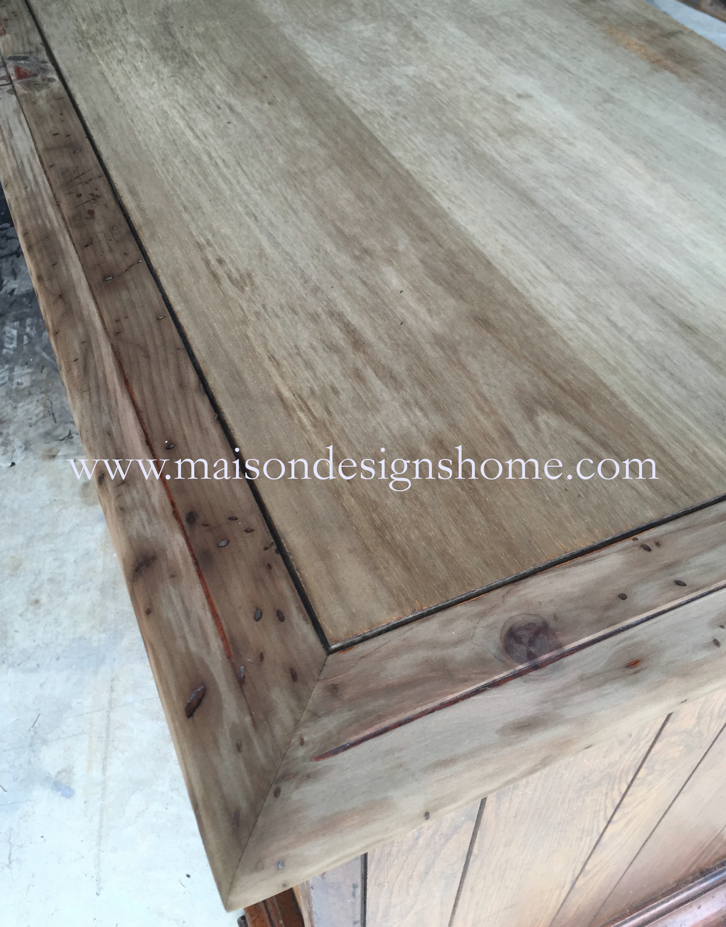 Grey Wash Wood Stain A Restoration Finish Tutorialvinegar Stain Combination Maison