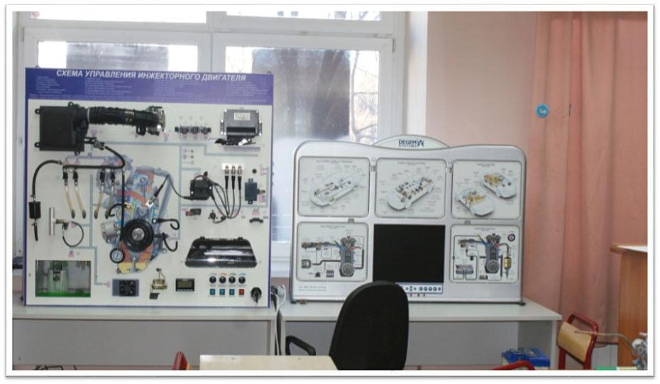 Схема управления инжекторного