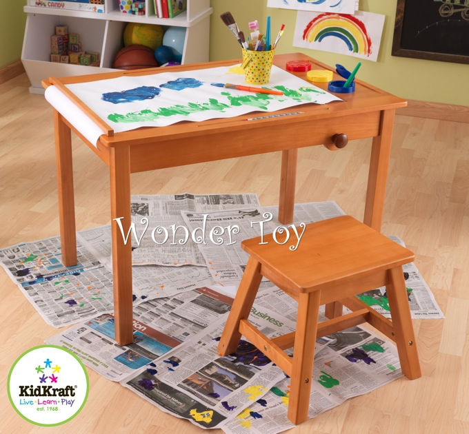 New Art Table And Stool