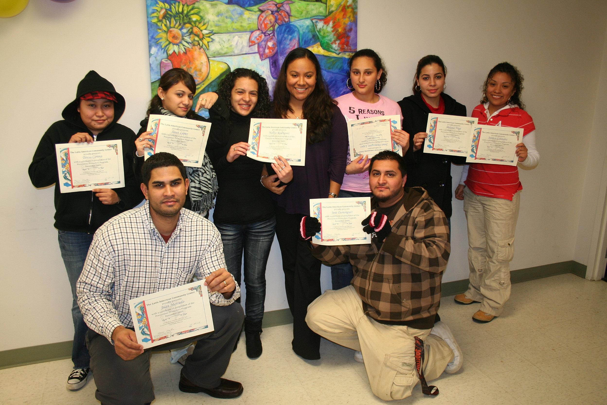 latin american community center edc family night