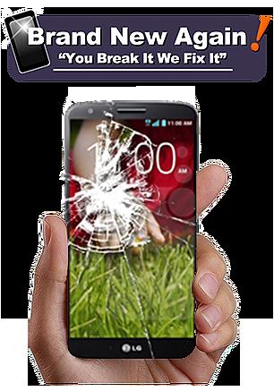 lg cracked phone screen repair