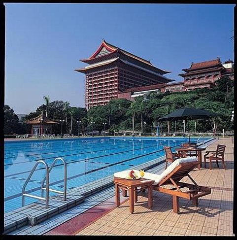 Grand Hotel Taipei Pool