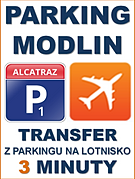 Lotnisko Modlin Parking