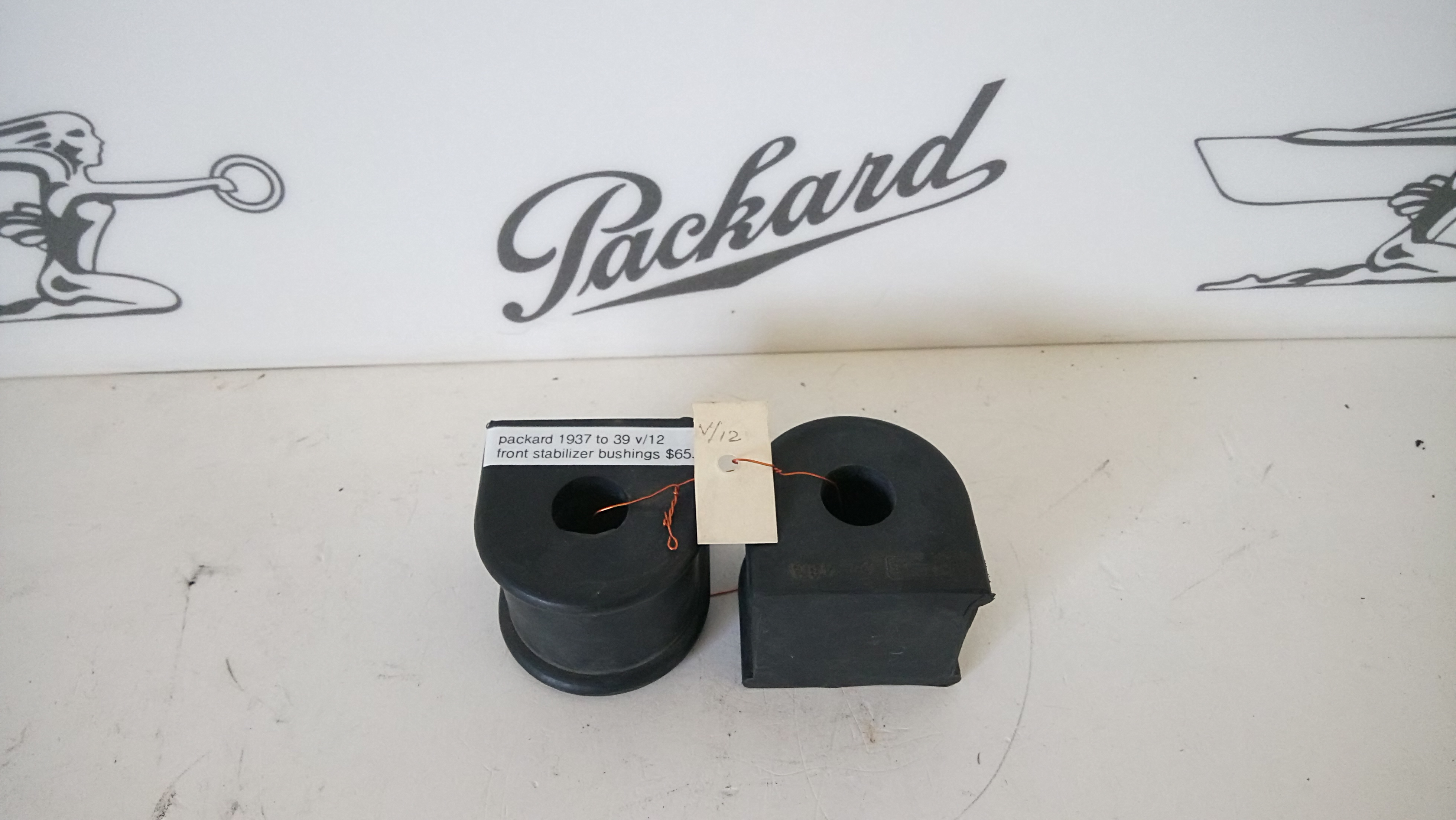 Tucsonpackard Packard Parts. 19371939 Packard V12 Front Stabilizer Bushings. Wiring. 1949 Packard Wiring Diagram For Gas Gauge At Scoala.co