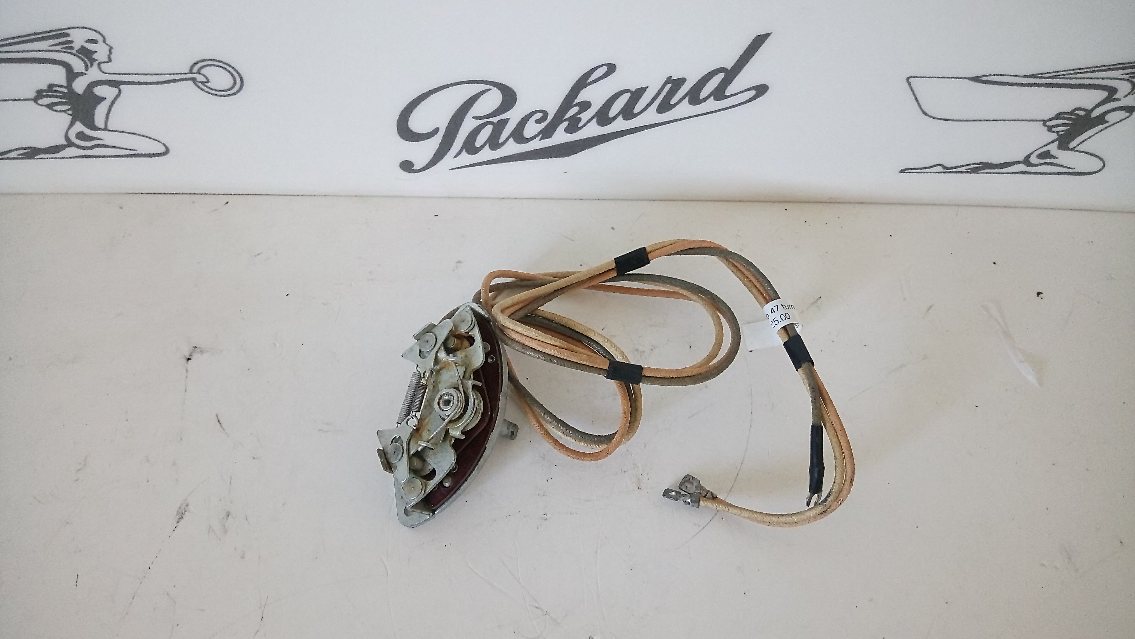 Tucsonpackard Packard Parts. 19411947 Packard Turn Signal Switch Nos. Wiring. 1949 Packard Wiring Diagram For Gas Gauge At Scoala.co