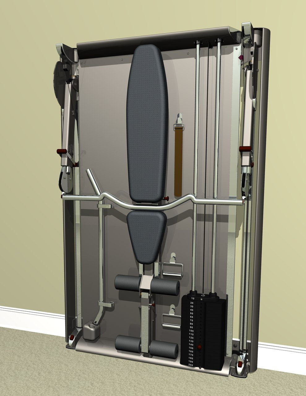 Ultra compact home gym wix