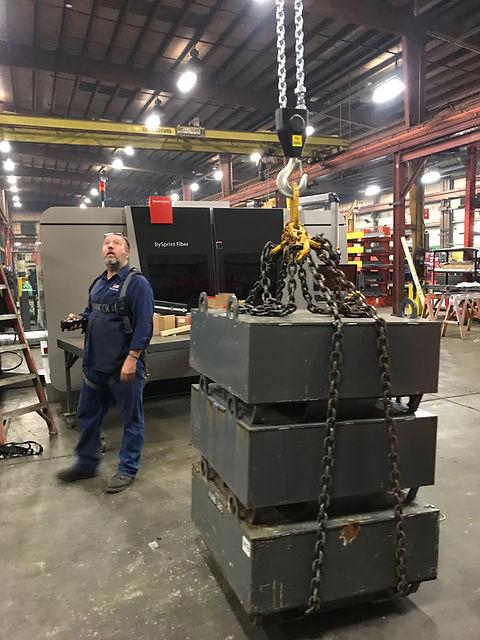 US Crane Load Testing
