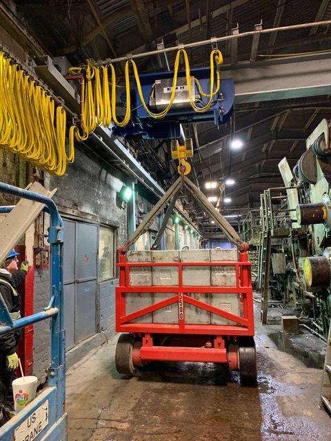 US Crane Load Test