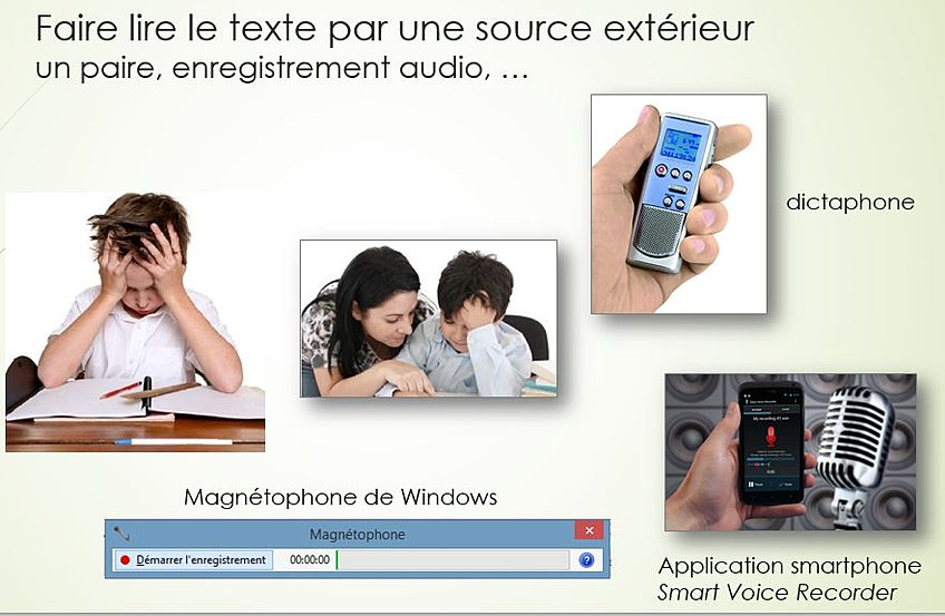 faire lire un texte par l ordinateur windows 7 Windows