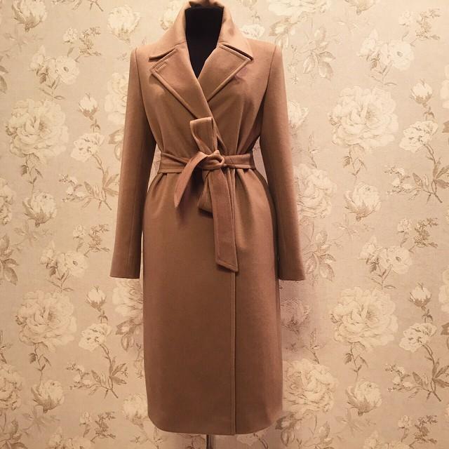 Бежевое Пальто Купить