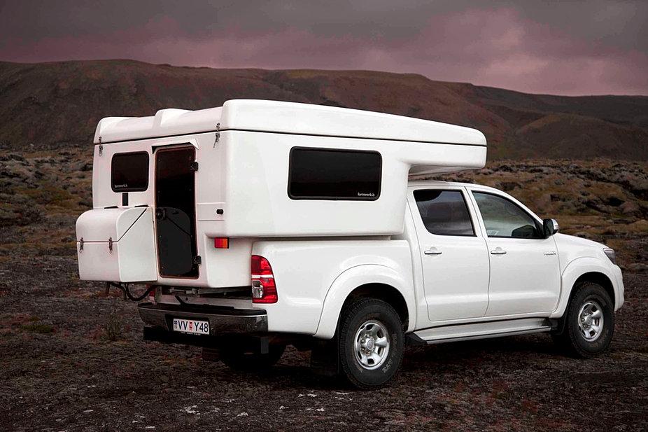 Camper Rental Iceland Camper 4x4