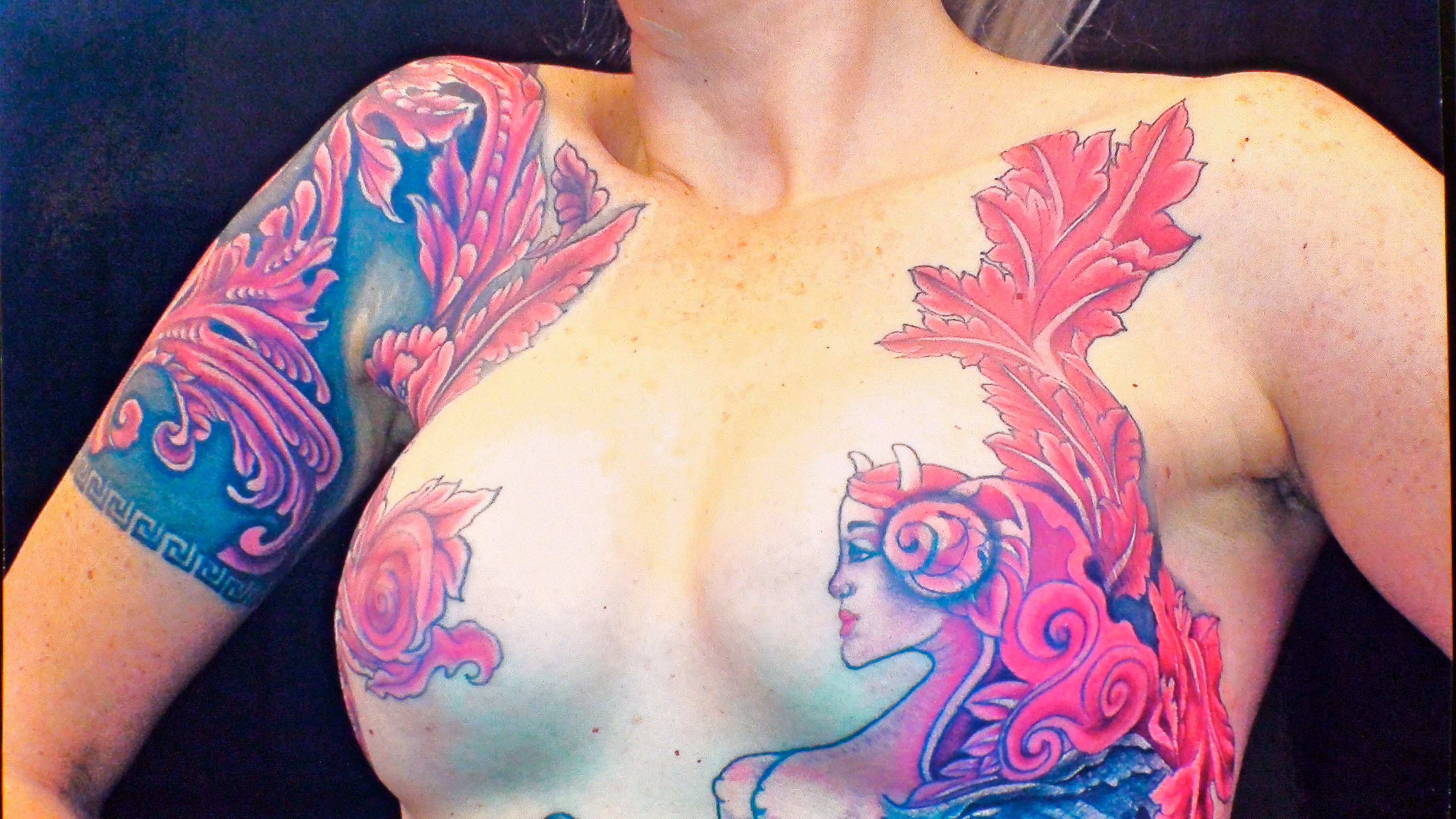 Top wix templates images for pinterest tattoos for Breast reconstruction tattoos