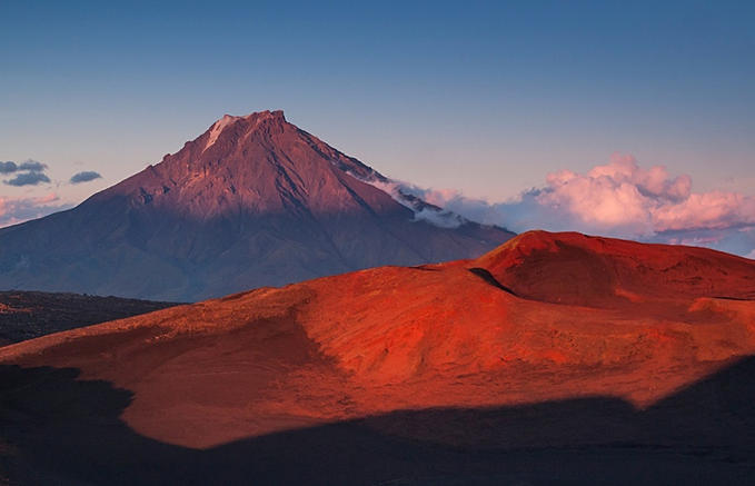 Вулкан Вилючинский.