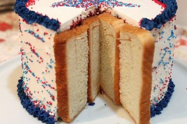 Рецепты легких тортов фото в разрезе, кусочки