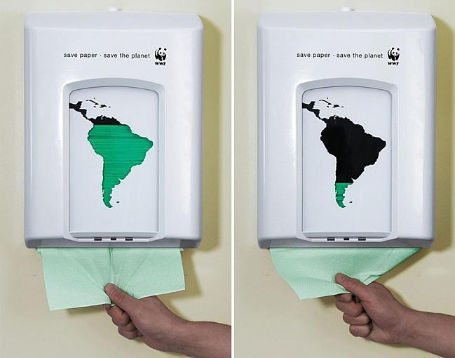 Экономишь бумагу — спасаешь планету