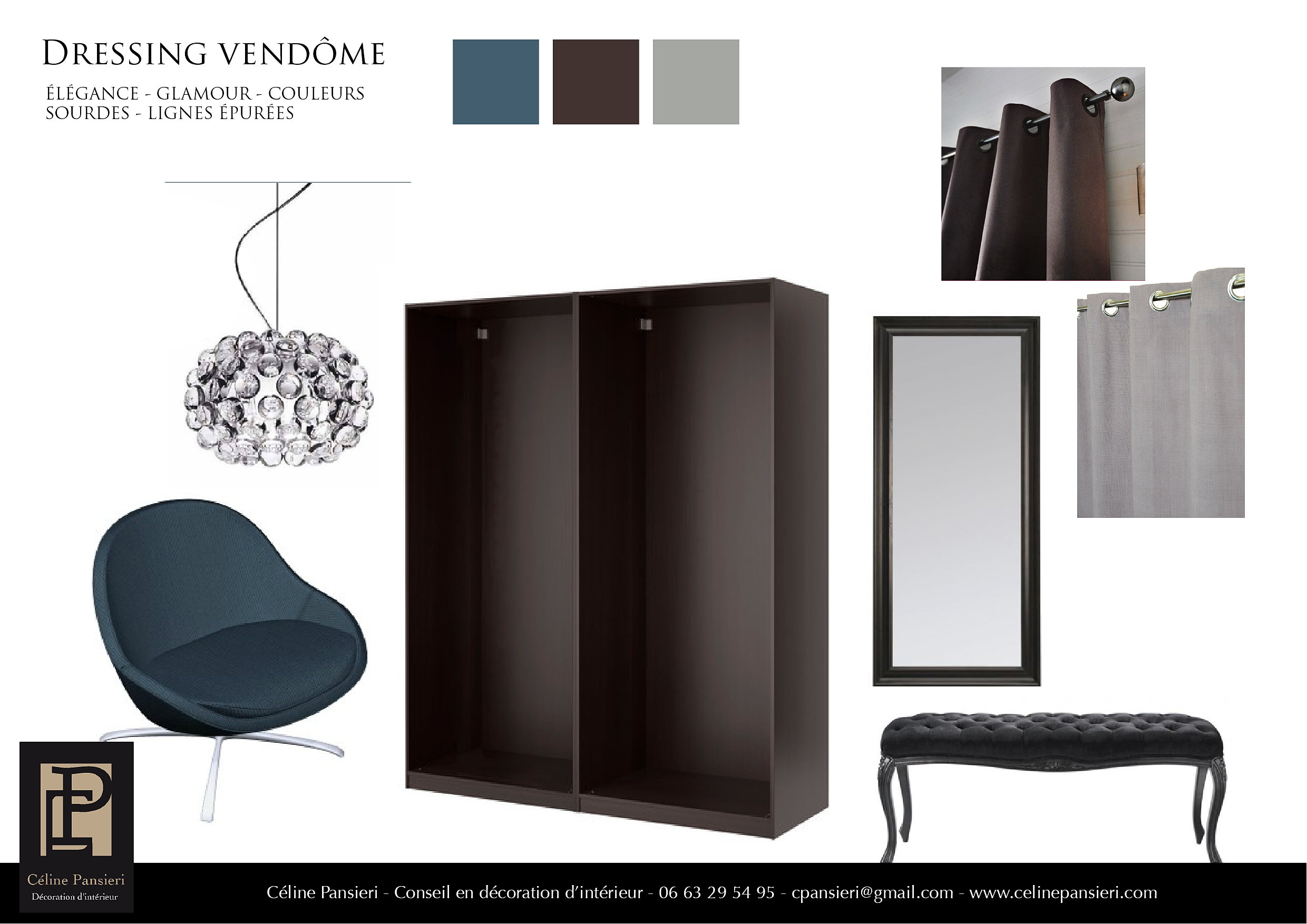 c line pansieri d coration int rieur ambiance dressing vend me. Black Bedroom Furniture Sets. Home Design Ideas