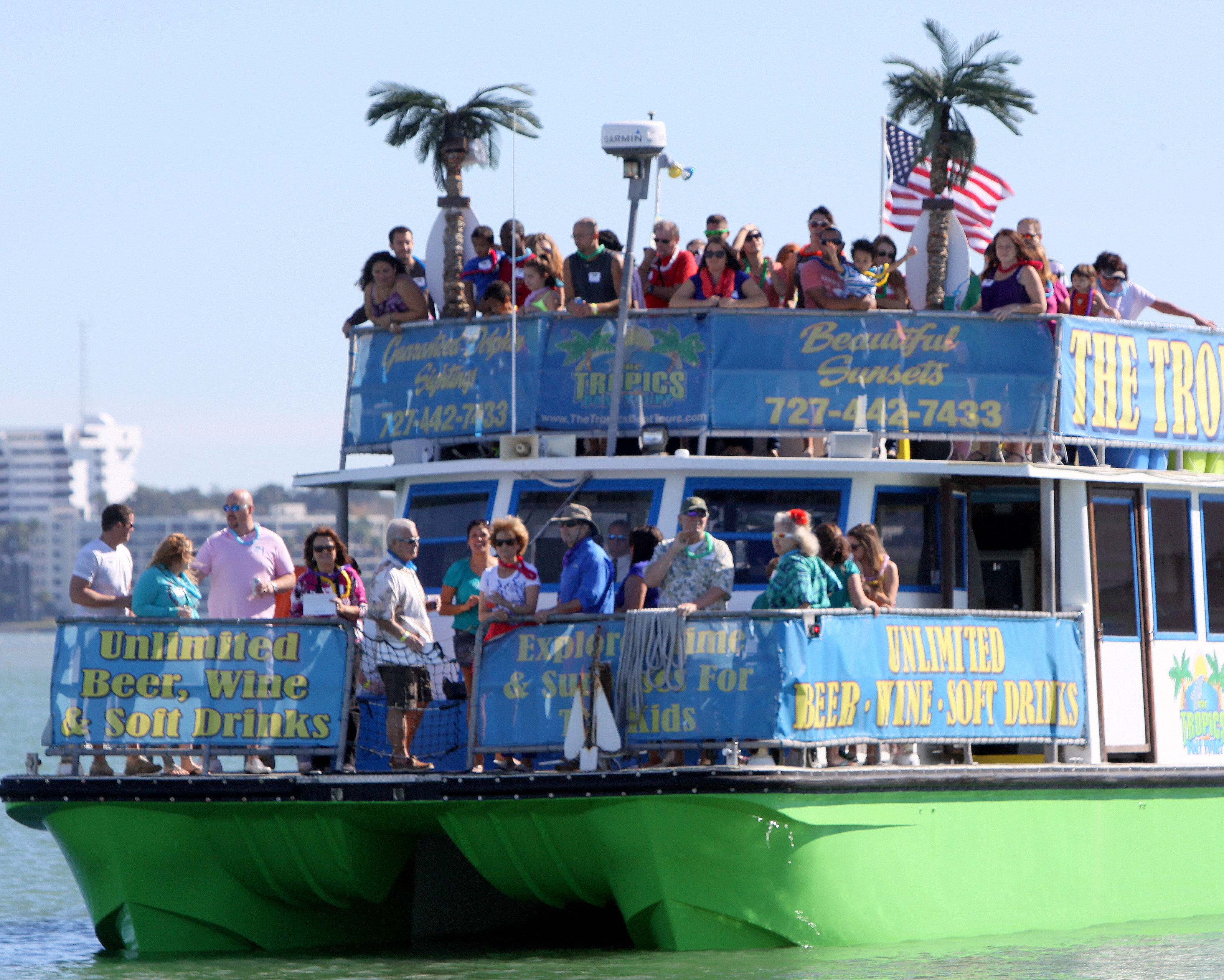 Clearwater Beach Marina Boat Tours