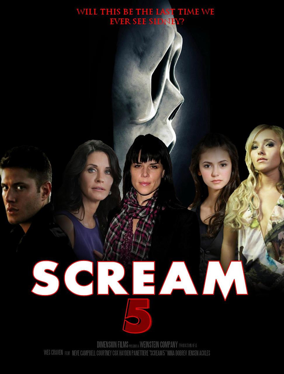 Image Gallery scream 5 poster