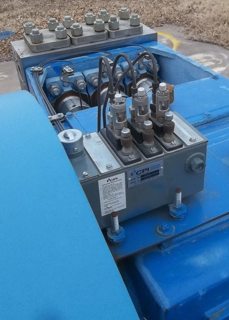 J 165 M Triplex Pump 150hp Motor Aos Surplus Oil