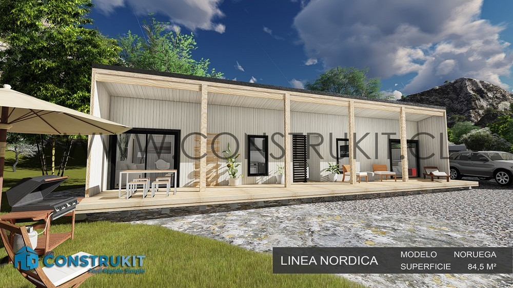 Construkit Kit Modelo Noruega 84 5m2