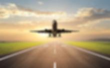 Avion despegando, aceleradora de negocios